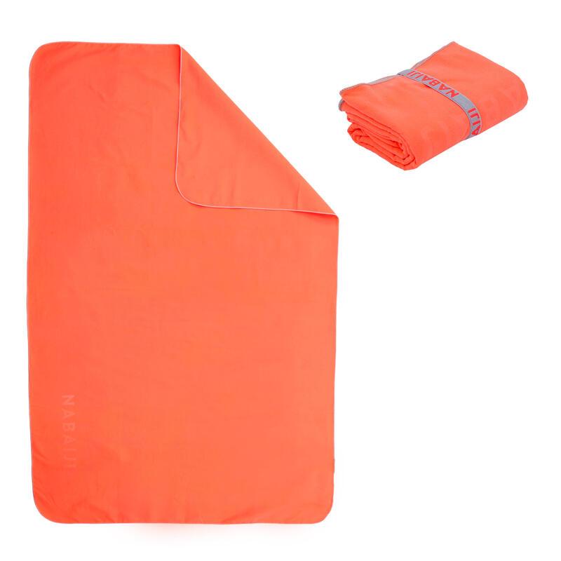 Toalla Naranja Microfibra Talla M 65x90CM