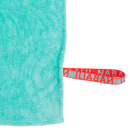 Soft Microfibre Towel Size XL 110 x 175 cm - Blue Green
