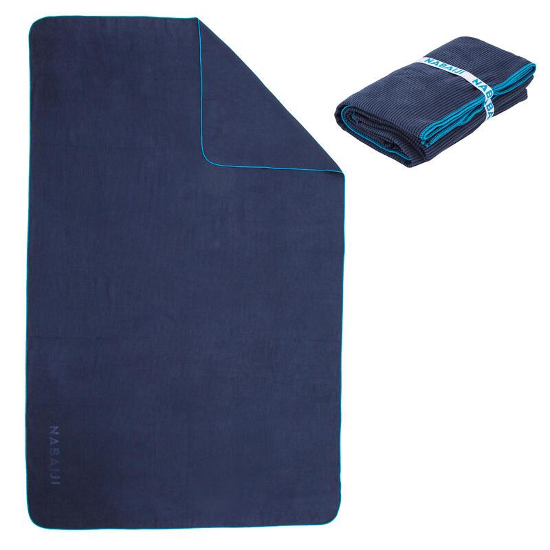 Prosop Microfibră Mărimea XL 110x175 cm Albastru