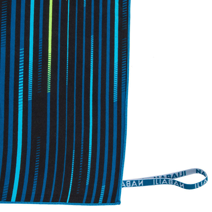 Serviette microfibre compacte imprimé taille XL 110 x 175 cm