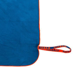 Swimming Microfibre Towel Size L 80 x 130 cm - Blue