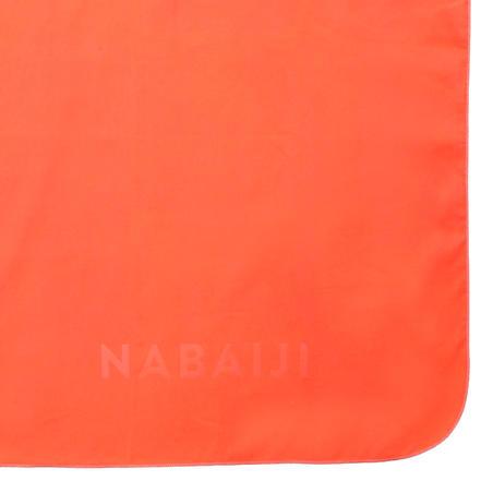 Рушник з мікрофібри, розмір М, 65 × 90 см - Помаранчевий