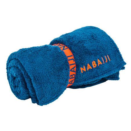 Swimming Ultra-Soft Microfibre Towel Size XL 110 x 175 cm - Blue