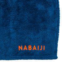 Toalla Microfibra Azul Suave Talla XG 110 x 175 cm