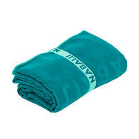 Swimming Microfibre Towel Size XL 110 x 175 cm - Forest Green