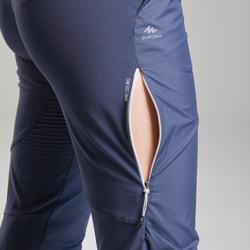 Pantalon de randonnée rapide Femme FH500 bleu