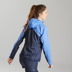 Veste de randonnée rapide femme FH 900 Hybrid bleu gris