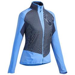 Veste chaude de randonnée rapide Femme FH 900 Hybride bleu