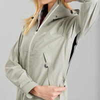 Куртка водонепроницаемая для походов в горах для женщин - MH500