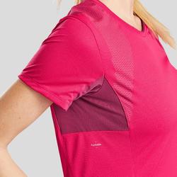 Tee-Shirt manches courtes de randonnée montagne - MH900 - Femme