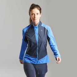 女款極速健行用保暖混合外套FH 900 Hybrid – 藍色