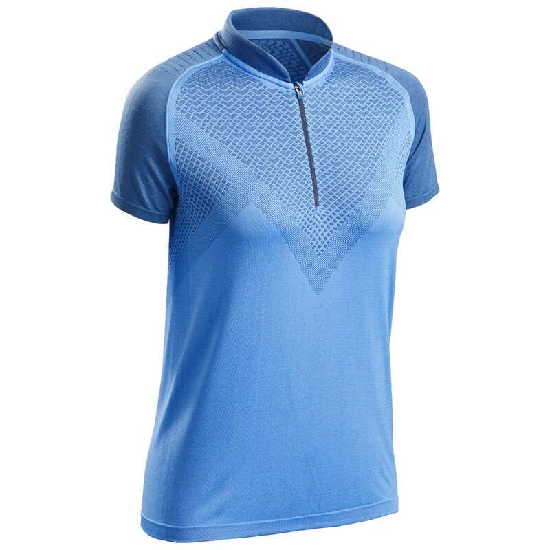 Outfit Damen Speed Hiking Damenbekleidung - Wandershirt FH900 Damen blau QUECHUA - Oberbekleidung Damen