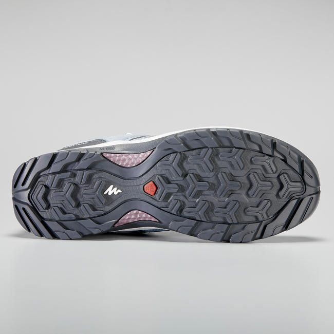 Women's Hiking Shoes (WATERPROOF) MH100 - Blue/Purple