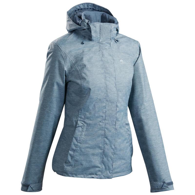 Waterdichte jas voor bergwandelen dames MH100
