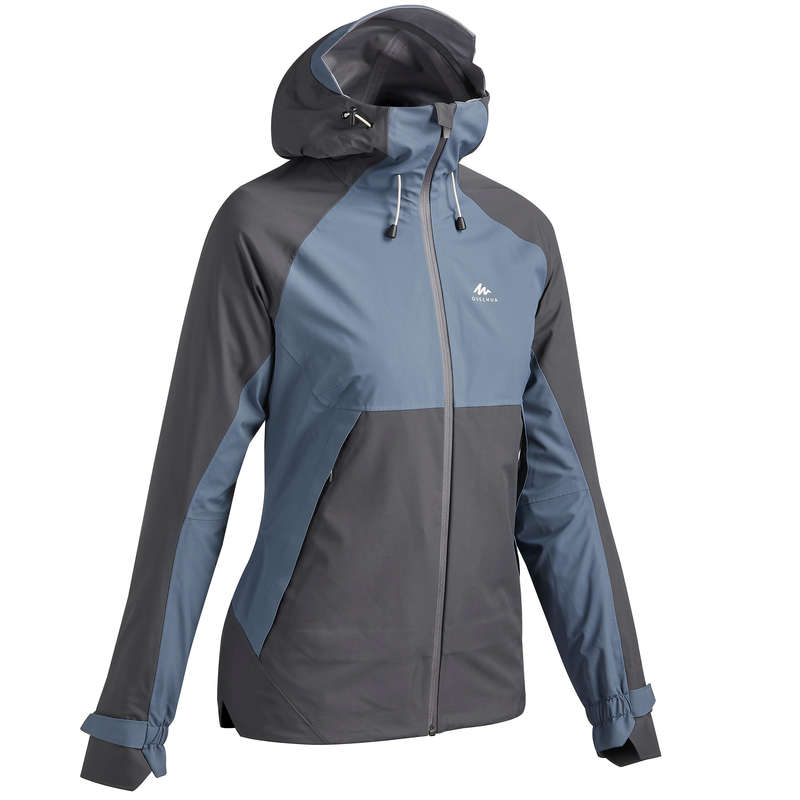 GIACCHE MONTAGNA DONNA Sport di Montagna - Giacca donna MH500 grigio-blu QUECHUA - Trekking donna