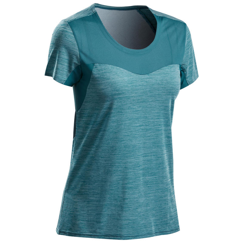 Women's Fast Hiking T-Shirt FH500 Helium - Blue