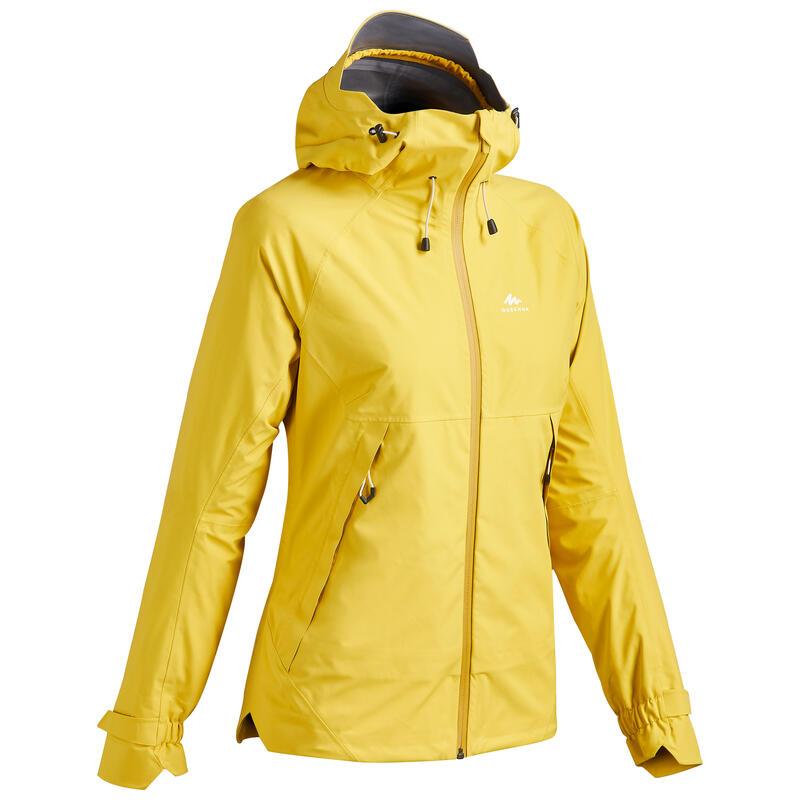 Women's Waterproof Mountain Walking Jacket - MH500