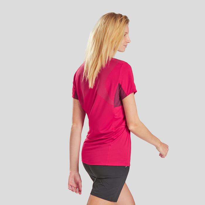 Damesshirt met korte mouwen voor bergwandelen MH900