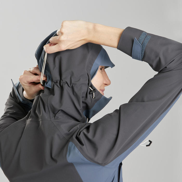Veste imperméable de randonnée montagne - MH500 - Femme