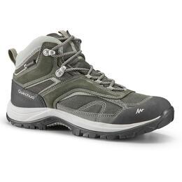 Women's Hiking Shoes (WATERPROOF) MH100 - Khaki