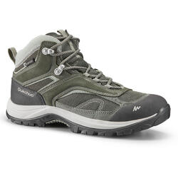 Women's Hiking Shoes (WATERPROOF) MH100 - Khaki