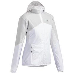Veste coupe vent ultra lègere - randonnée rapide - FH500 Helium wind - Femme