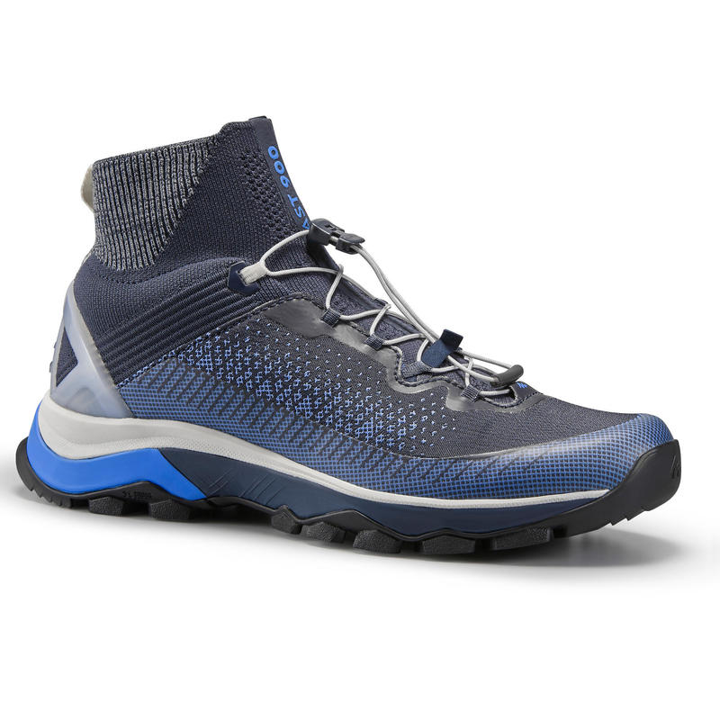 Schoenen voor fast hiking dames FH900 blauw