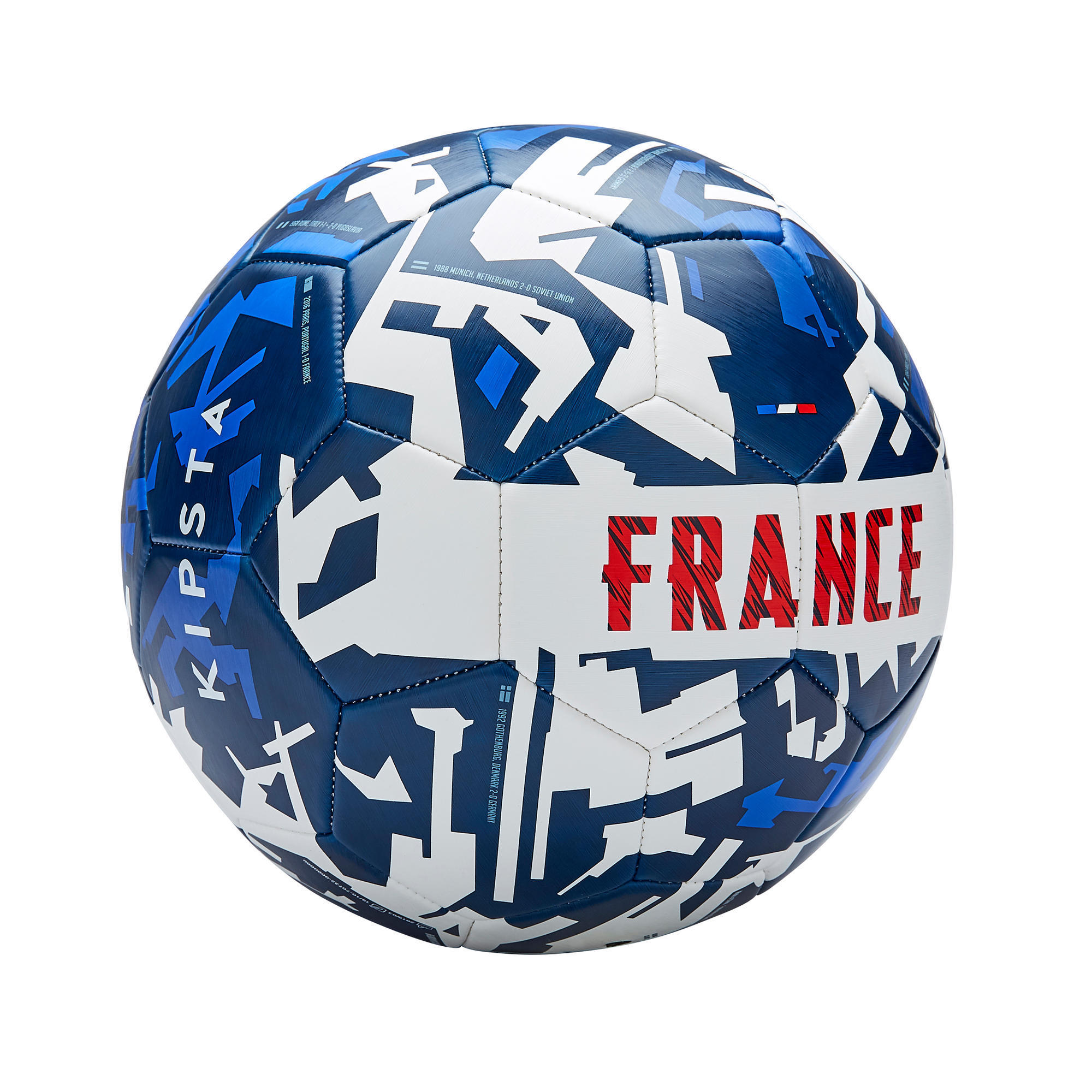 Ballon de <strong>football</strong> france 2020 taille 5 bleu blanc rouge kipsta