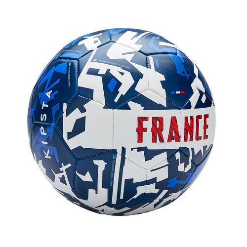 Ballon de football France 2020 taille 5 bleu blanc rouge