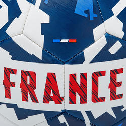 Ballon de football France 2020 taille 5 bleu blanc rouge
