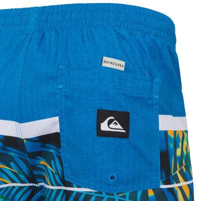 Boardshort Quiksilver Homme Floral Bleu