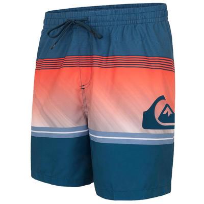 Boardshort Quiksilver Homme Orange à rayures