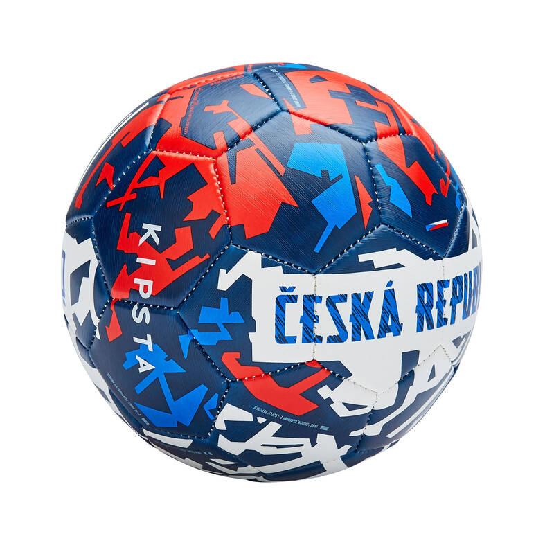 JINÉ TÝMY Fotbal - MÍČ ČESKÁ REPUBLIKA 2020 VEL.1 KIPSTA - Fotbalové míče a branky