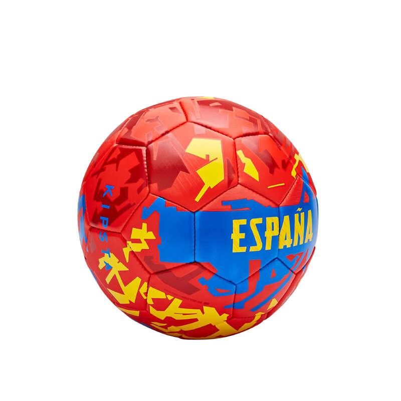ŠPANĚLSKO TÝMOVÉ SPORTY - MÍČ ŠPANĚLSKO 2020 VEL. 1 KIPSTA - Fotbal