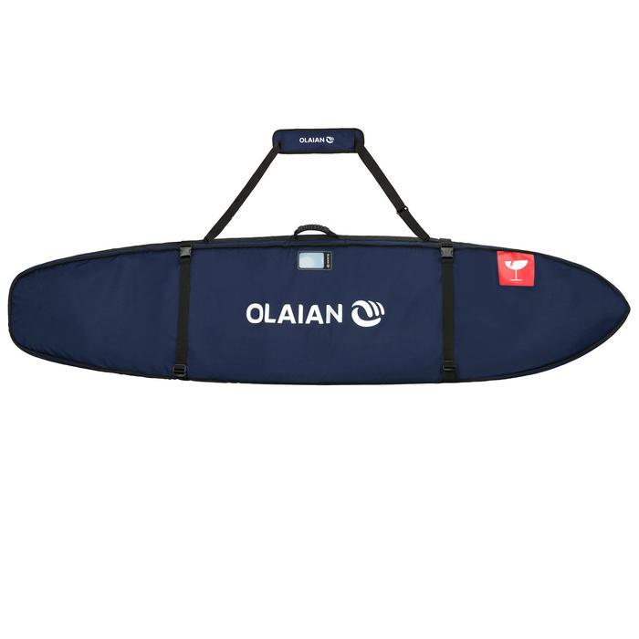 Boardbag 900 voor surfreizen, voor 2 surfboards van 7'