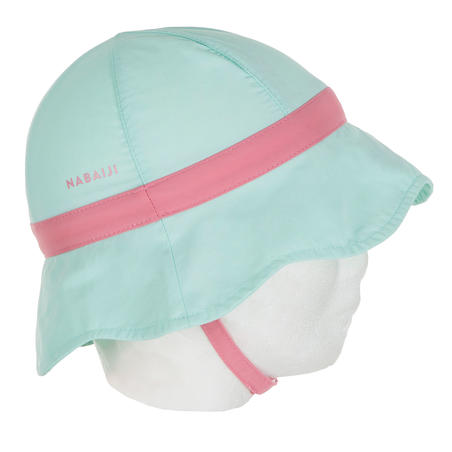 Baby Swimming UV Protection Hat - Green