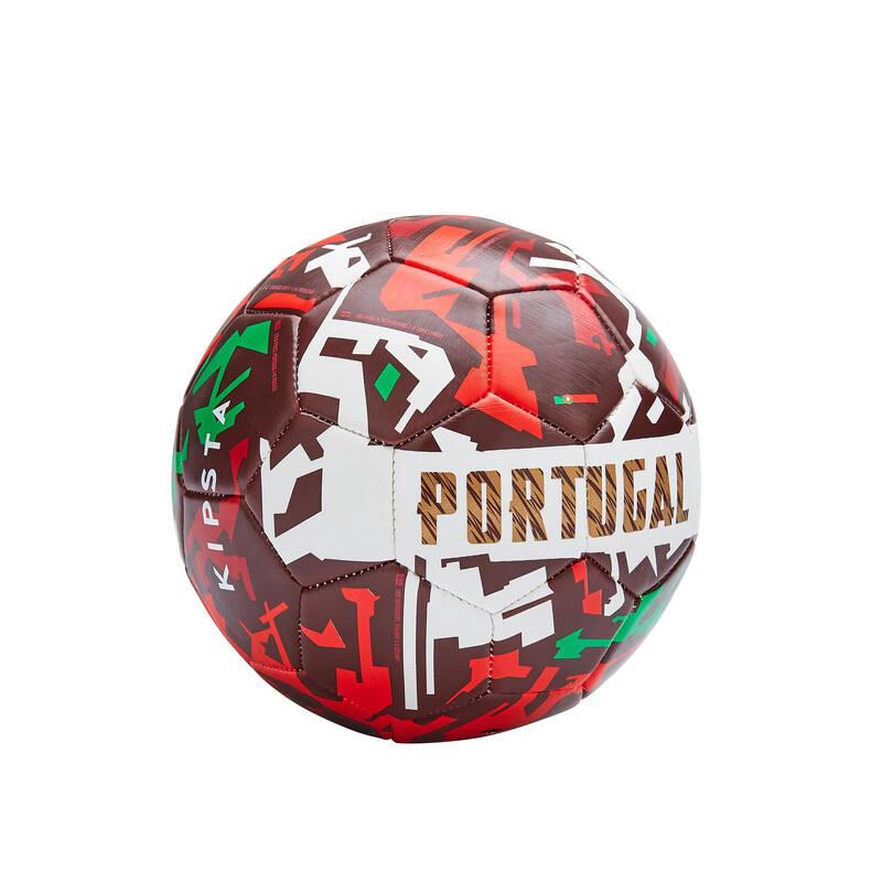 PORTUGALSKO Fotbal - MÍČ PORTUGALSKO 2020 VEL. 1 KIPSTA - Fotbalové míče a branky