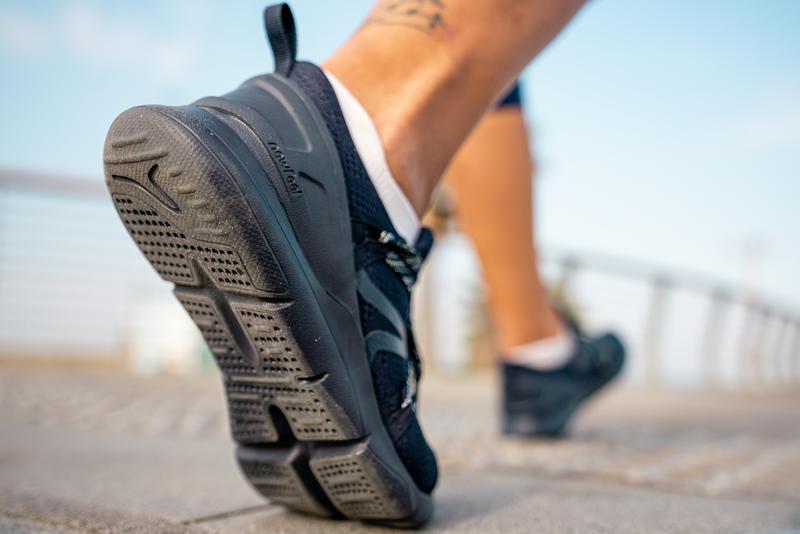 Chaussures marche sportive femme PW 140 bleu