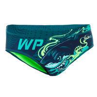 Traje de Baño Slip Waterpolo Shark Hombre Verde