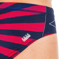 MEN'S WATER POLO SWIMMING BRIEFS - JAPAN BLUE RED
