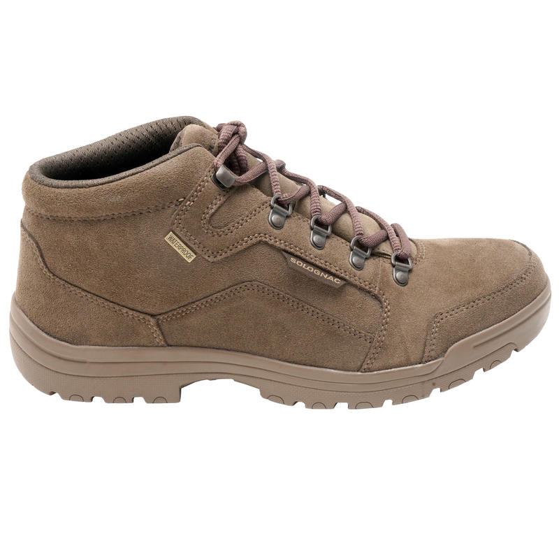 500 lightweight waterproof hunting shoes brown
