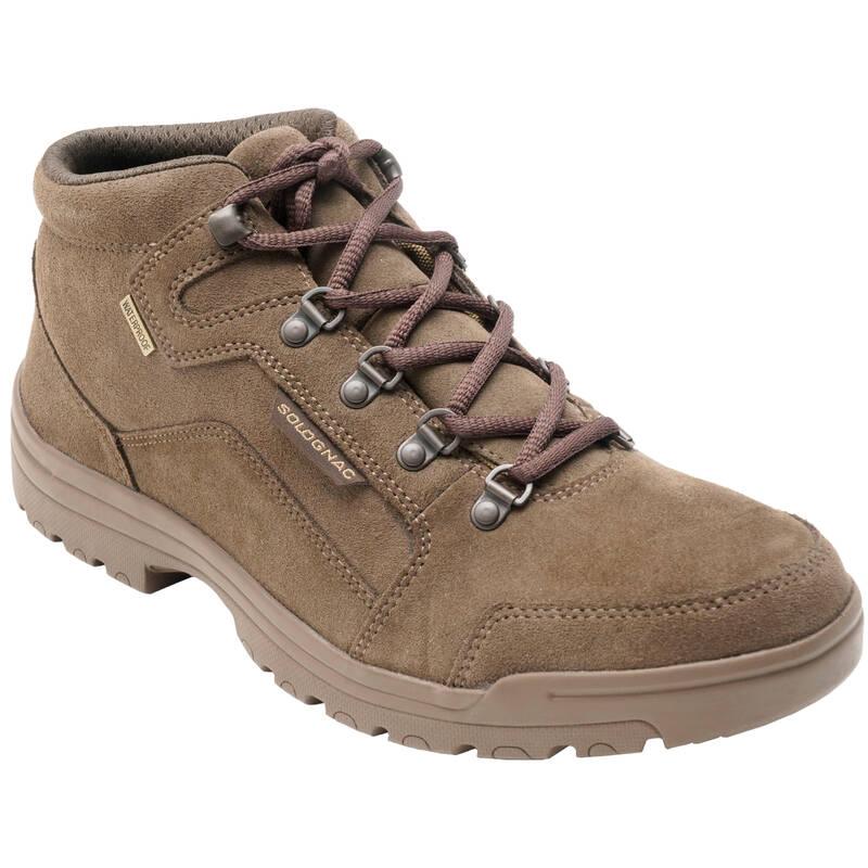 BOTY Myslivost a lovectví - BOTY NEPROMOKAVÉ LEHKÉ 500 SOLOGNAC - Myslivecká obuv a ponožky