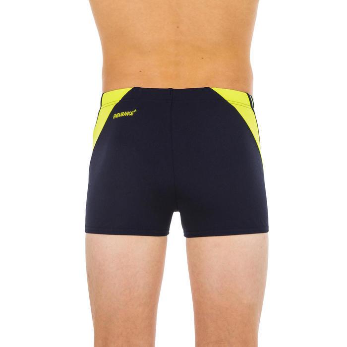 Zwemboxer voor jongens Speedo blauw/geel