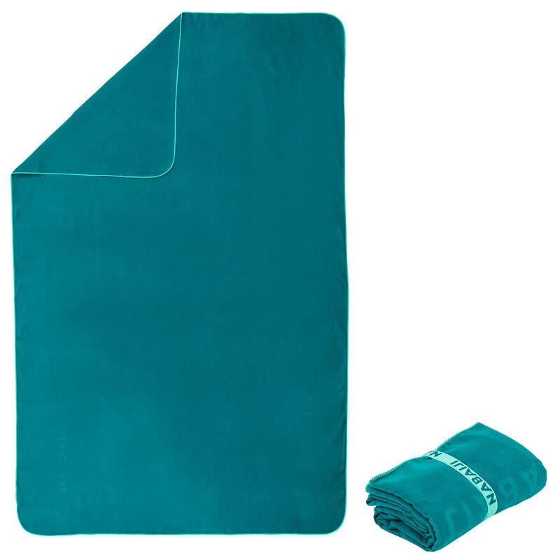 Toalla Baño Microfibra Verde Abeto Talla XL 110 x 175cm