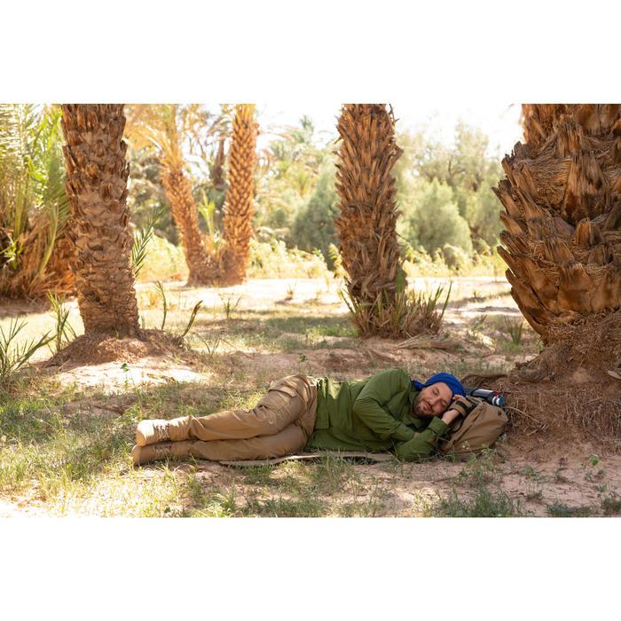 Fauteuil multi-position de Trekking Désert - DESERT 500 marron adulte