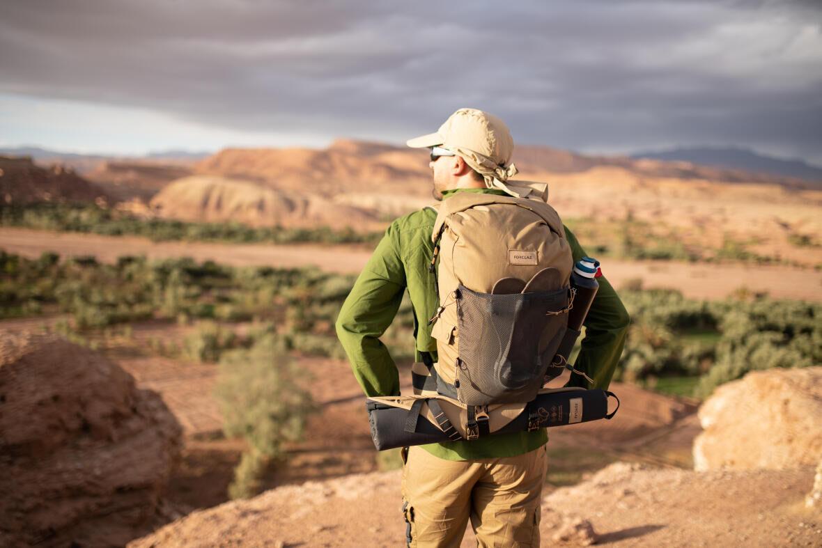 sensation de liberté pendant un trek