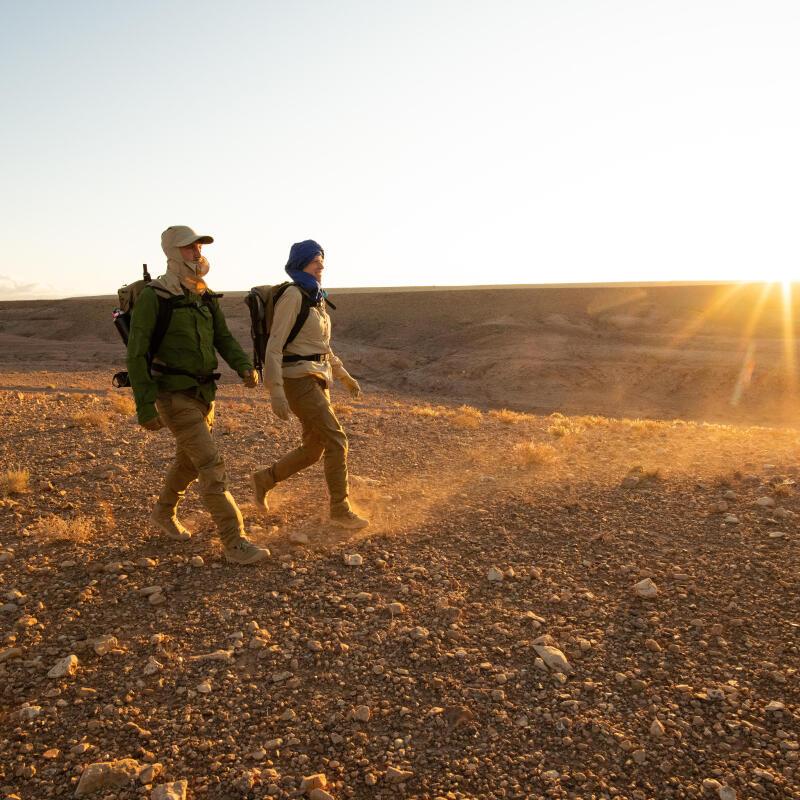 désert du sahara au Maroc erg reg