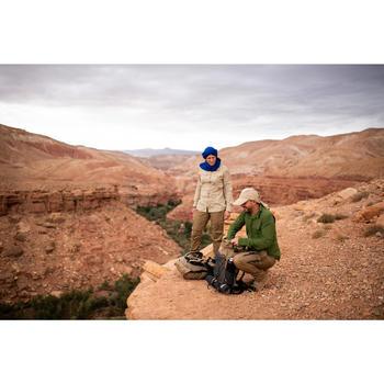 Desert 500 Women's Long-Sleeved Trekking Shirt - Beige