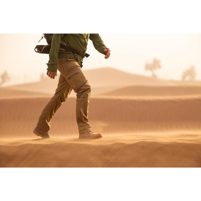 Herenbroek voor woestijntrekking Desert 500 bruin
