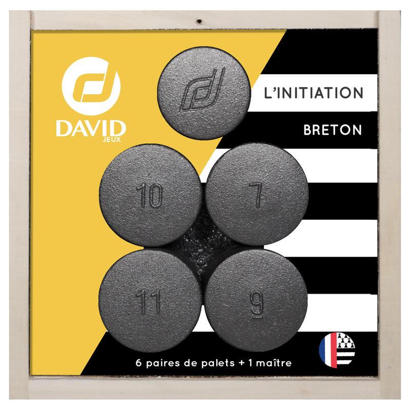 6 PAIRES DE PALETS L'INITIATION + 1 MAÎTRE